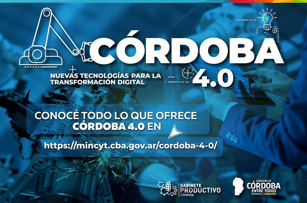 Córdoba 4.0 - Programa de Nuevas Tecnologías para la Transformación Digital